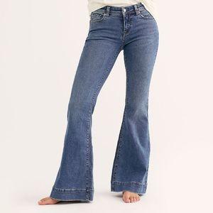 Free People Low Tide Bell Bottom Jeans